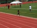 Amelia running the 800