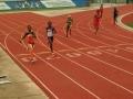 Hannah running the 400
