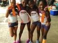 8-under girls 4x100