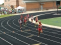 Raven and Yasmine running the 800