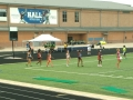 Haley running the 100