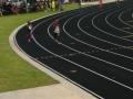 Ryann running the 400