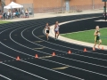 Shayda running the 800