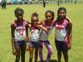 9-10 girls 4x100