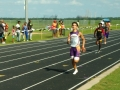 Michael running the 200