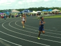 Nylah running the 400