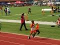 Daniel running the 800