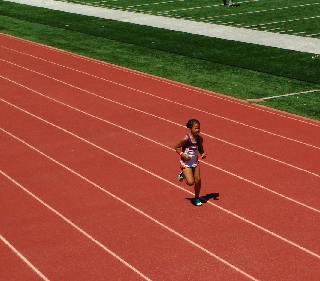 Ireon running the 400