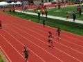 Daniel running the 400