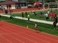 Tyra running the 400