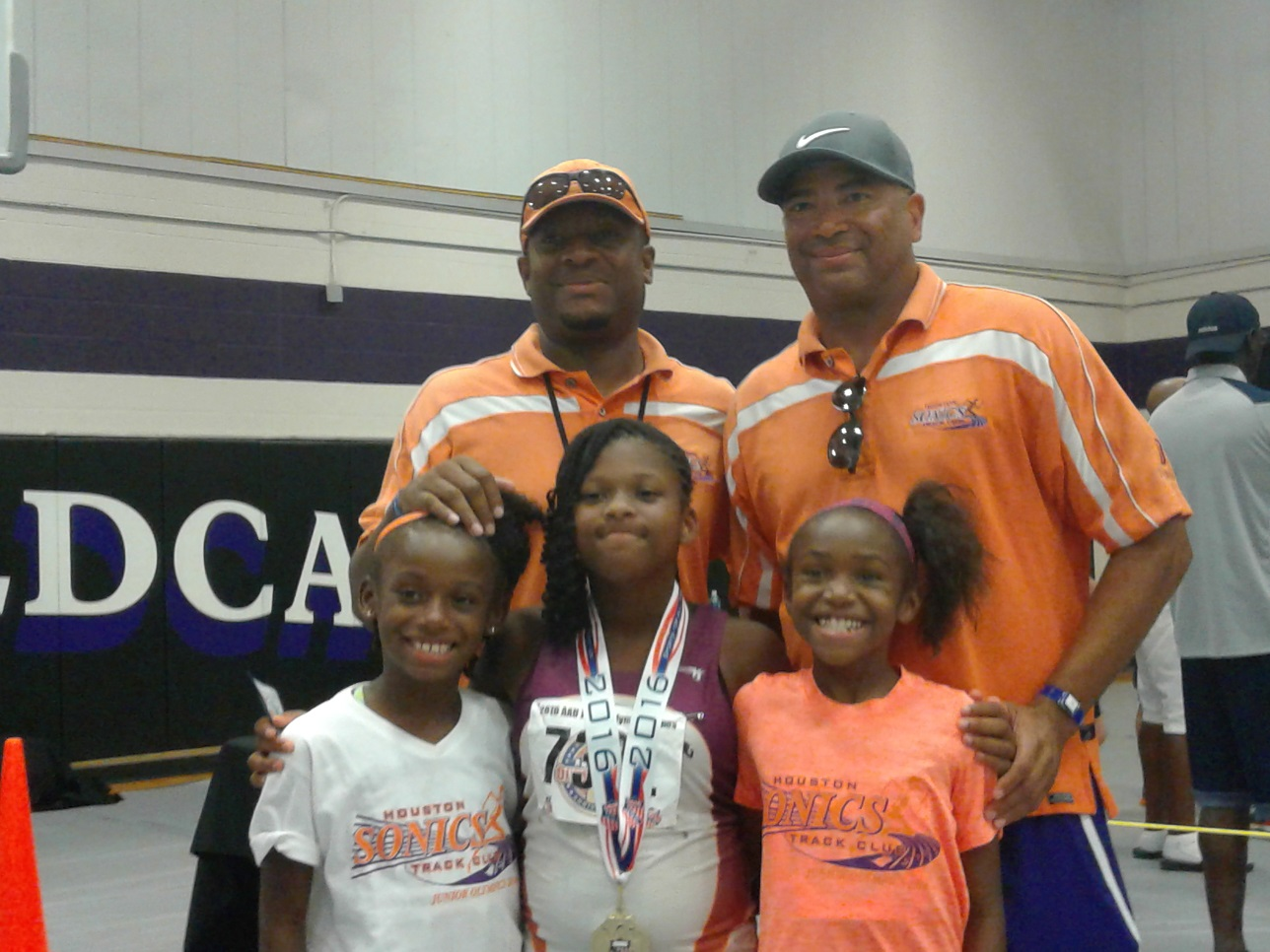 Octavia shot put gold