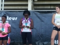 Jaiden 5th place medalist in the javelin