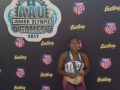 Octavia 3rd place in discus