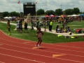 Navaeh running the 400