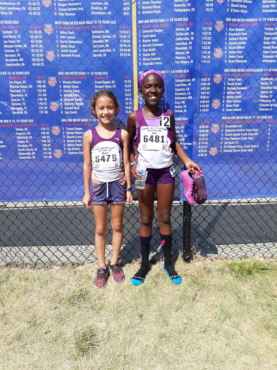 Angela and Kaci after their 1500s