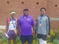 Deanthony with Coach Shahid and Kenneth