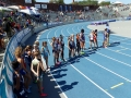 Kaci lined up for the 1500