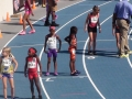 Kyndal lined up for the 800