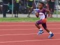 Gavin running the 400