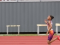 Jayla running the 100