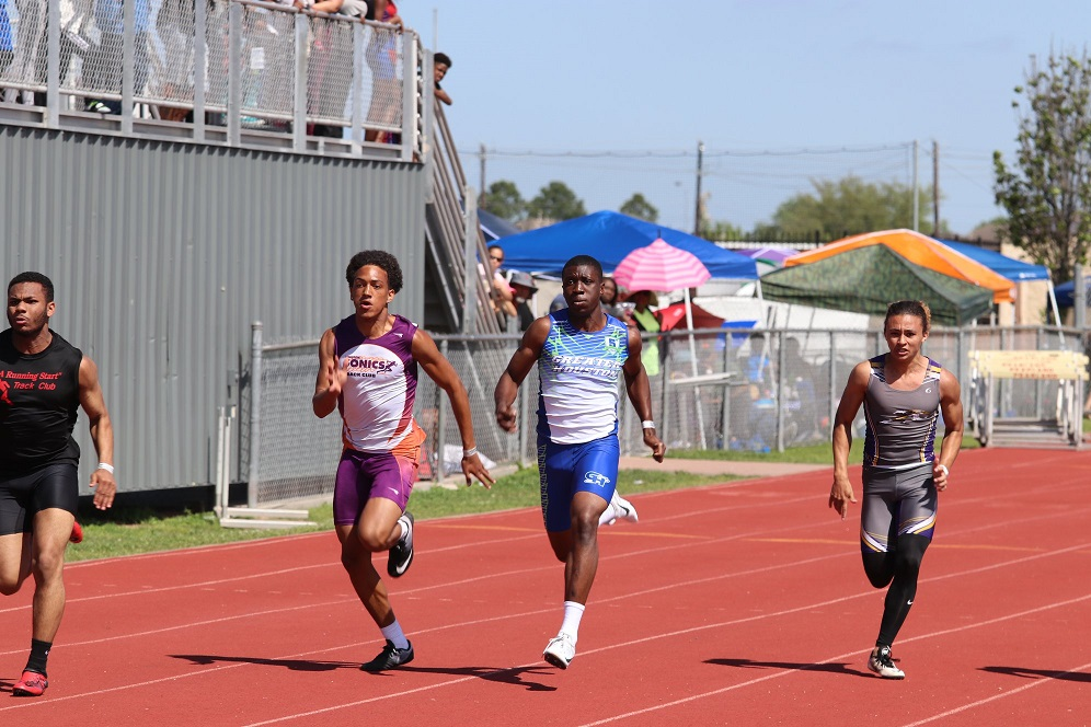 Cameron in the 100