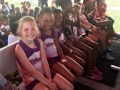 Bantam girls waiting for the 800