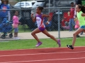 Natalie starting out in the 800