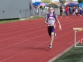 William running the 100