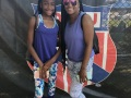 Kylah and her mother, Toni