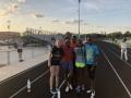 11-12 Girls relay team