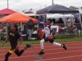 DJ running the 200