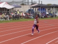 Nevaeh running the 200