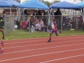 Ziel running the 200