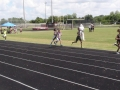 Angela running the 1500