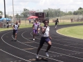 Anthony running the 400
