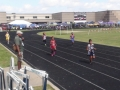 Cassondra running the 200