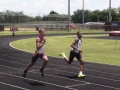 Edward running the 400