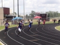 Jashaun running the 400