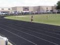 Jim'Myia running the 200