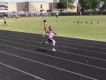 KJ running the 200