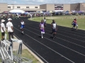 Kolin running the 100