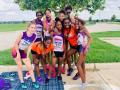 Girls 4x100 relay teams