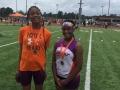 Hurdles medalists