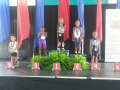Jayden on the medal stand