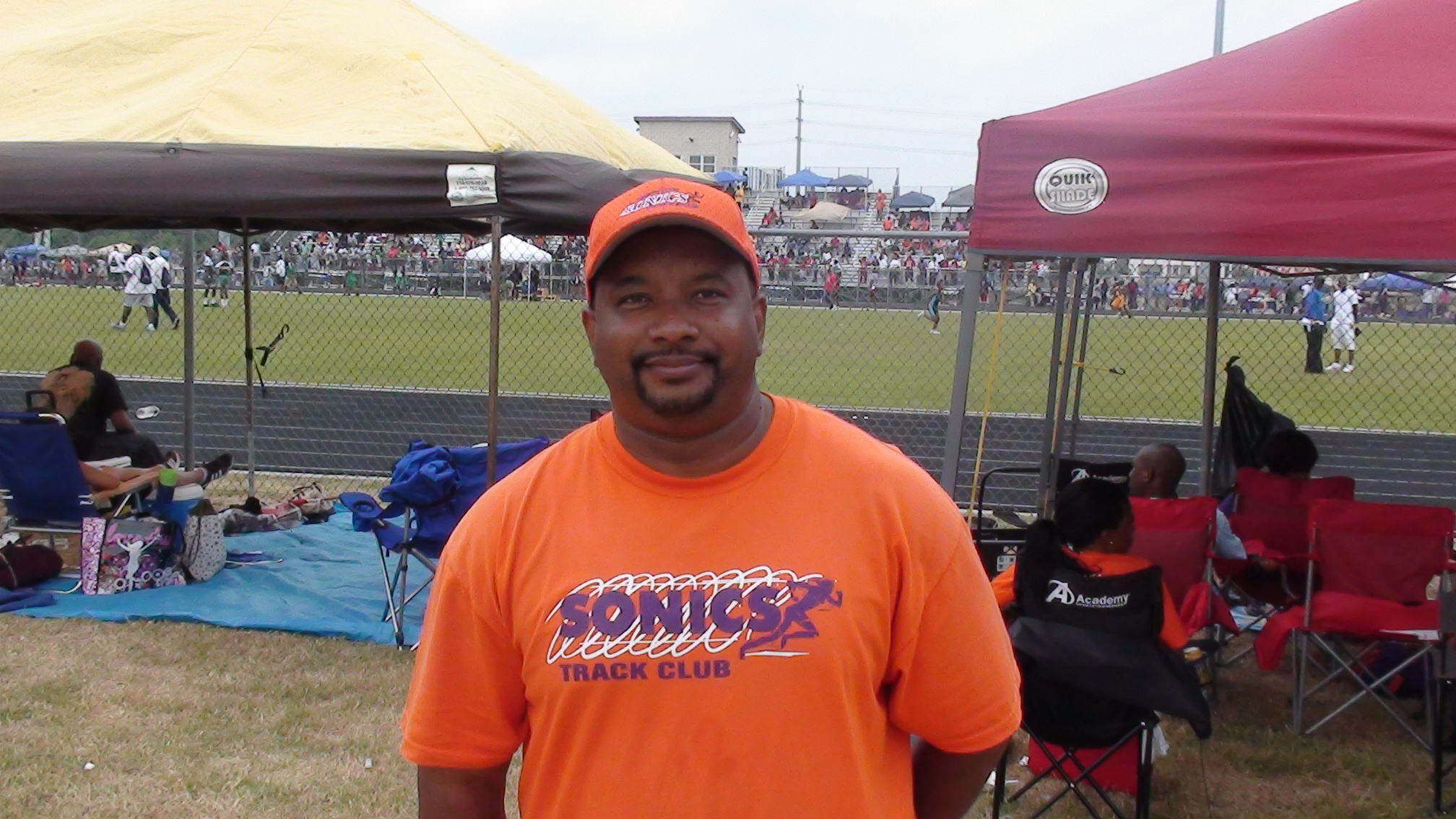 South Site Coordinator Bert Bilton
